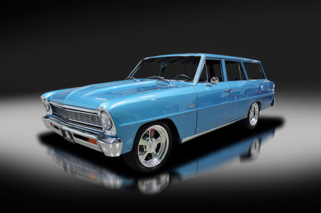 1966 Chevrolet Nova Wagon Custom. New Build. Beautiful. Must See. WOW!