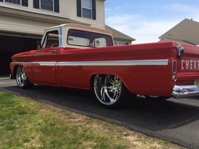 1966 chevy c10 custom show truck turbo ls motor for sale for Truck motors for sale