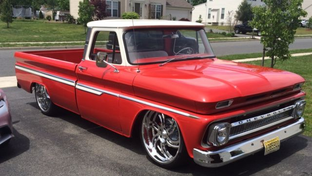 1966 chevy c10 custom show truck turbo ls motor for sale photos technical specifications. Black Bedroom Furniture Sets. Home Design Ideas