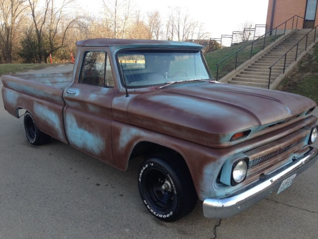 1966 Chevy C10 Patina Rat Rod For Sale Photos Technical