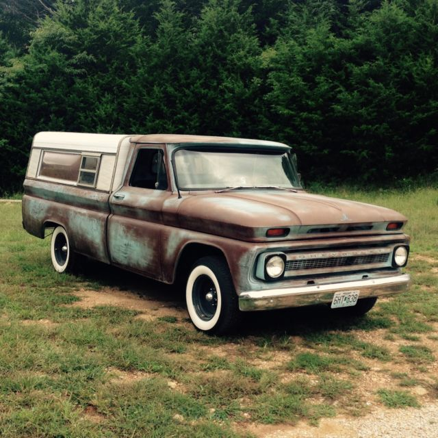 1966 Chevy C10 Patina Rat Rod Barn Find Vintage Antique