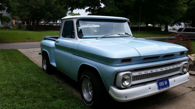 1966 Chevy C10 Stepside Pickup Truck Classic Power Steering For