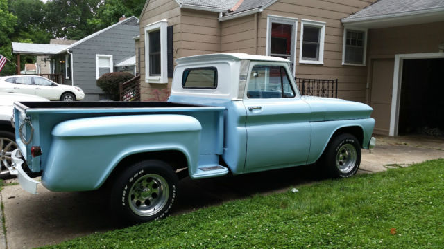 1966 chevy c10 stepside pickup truck classic power steering for sale photos technical. Black Bedroom Furniture Sets. Home Design Ideas