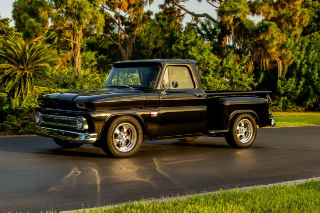 Chevy C Stepside Truck Zz Engine Hot Rod Street Rod Pro Touring on Zz4 350 Turn Key Engine
