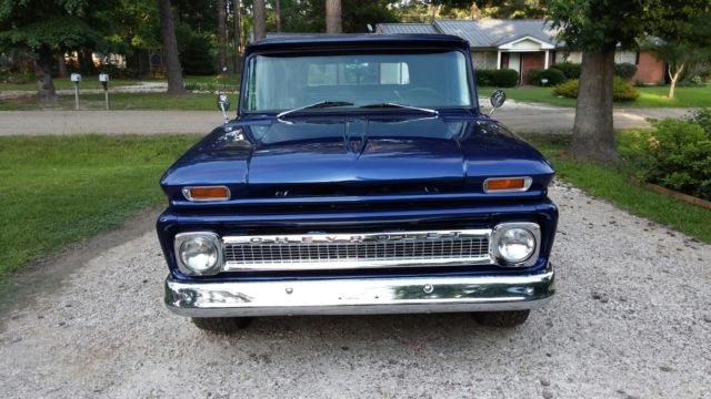 1966 Chevy C10 Swb Stepside Pick Up Truck Complete