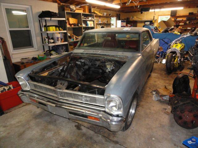 1966 Chevy Ii Nova Parts Project Car For Sale Photos Technical