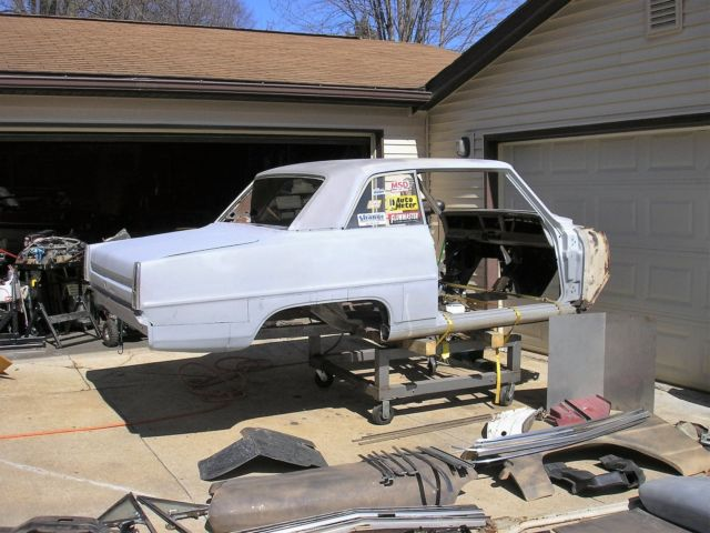 1966 Chevy Nova Project 67 Glass Fenders And Hood For Sale Photos