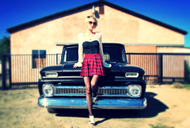 1966 Chevy Truck C10 383 Stroker, 700R4 auto trans, 500HP  Priced to