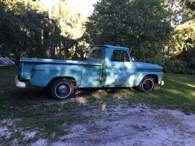 1966 Chevy Truck Step Side Long Bed For Sale Photos