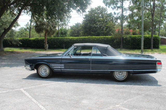 1966 chrysler 300 convertible for sale