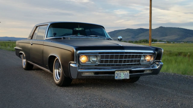 1966 Chrysler Imperial Crown Coupe 7 2l For Sale Photos