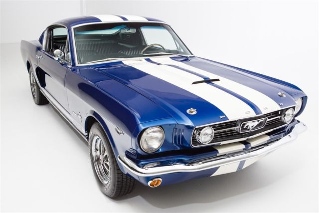 1966 Ford Mustang Cobalt Blue 2+2