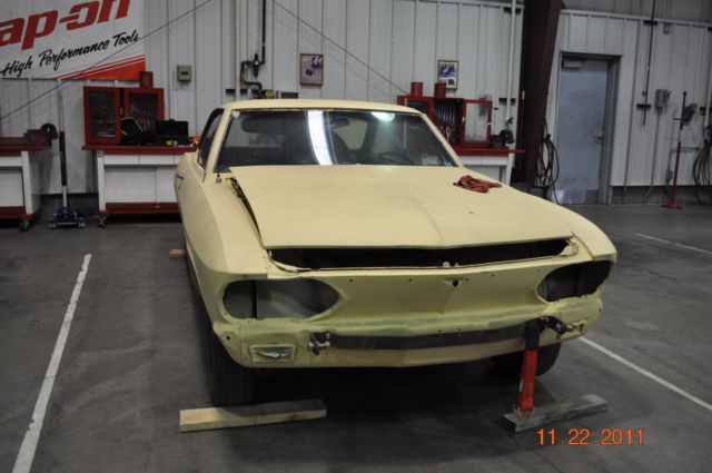 1966 Chevrolet Corvair Corsa - V8 Project