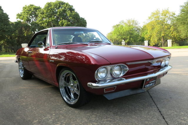 1966 Chevrolet Corvair Leather