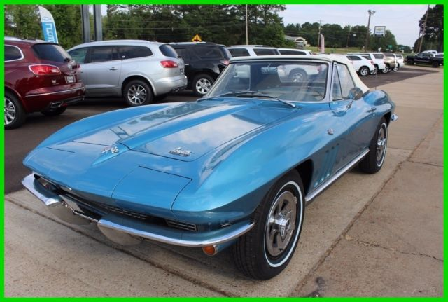 1966 Chevrolet Corvette 1966 Corvette Stingray Convertible