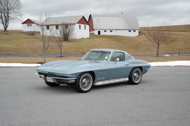 1966 Chevrolet Corvette #s match 327/300hp Fact A/c PS PB PW TELE