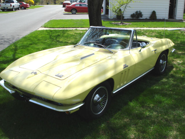 1966 Chevrolet Corvette L72 ROADSTER