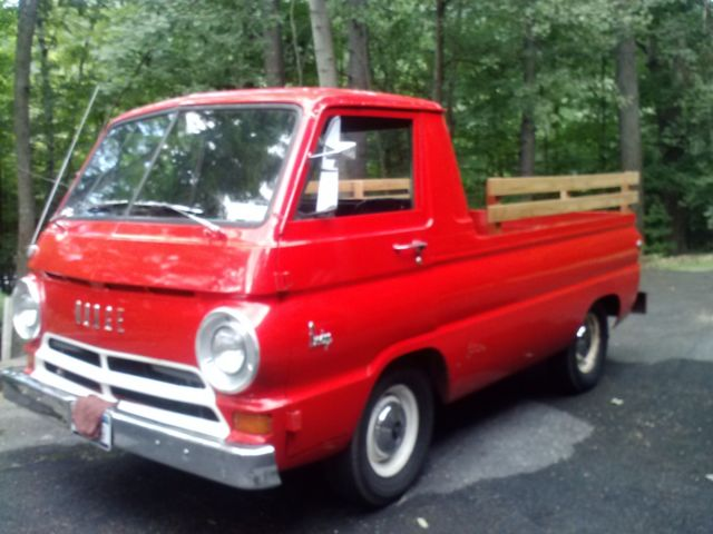 1966 dodge a100 pickup truck with auto trans slant 6 for Dodge motors for sale