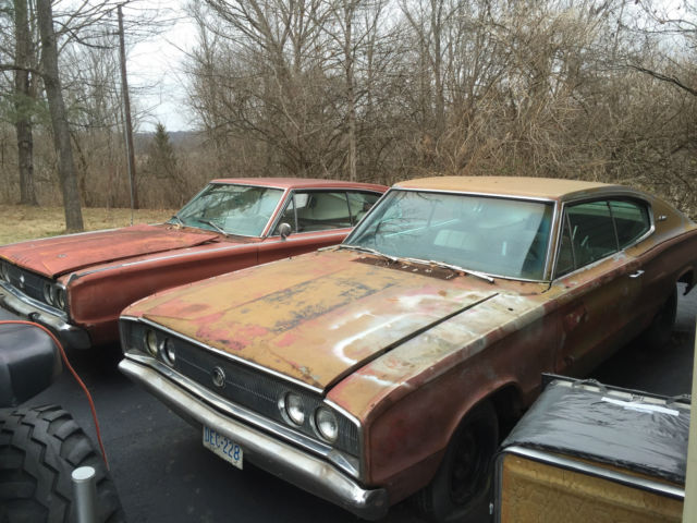 mercury charger car 1966 dodge charger plus 1967 parts car rebuilder project for