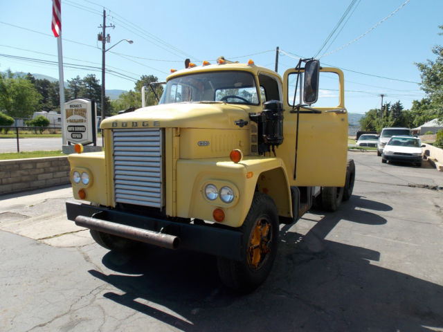 Dodge semi trucks for sale