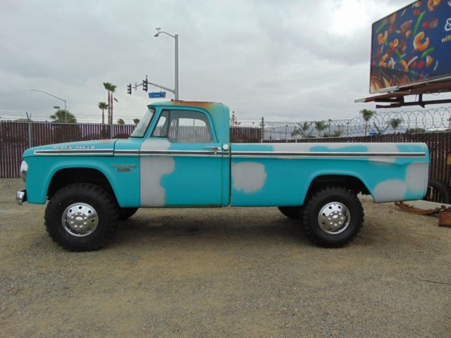 1966 Dodge Power Wagon Camper Special
