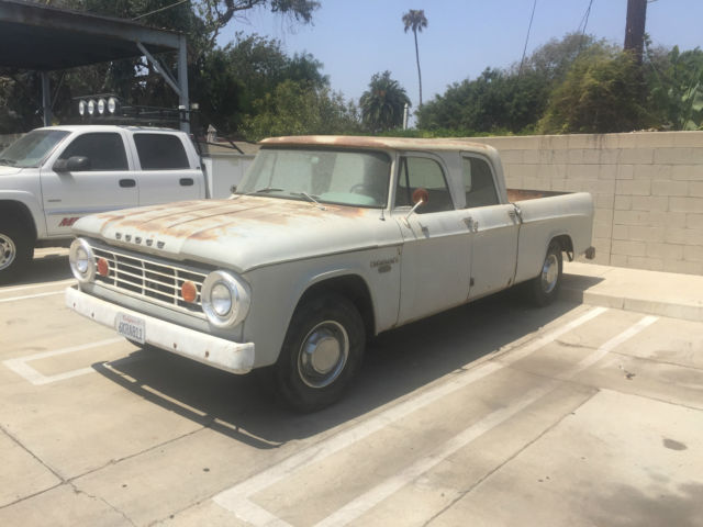 1966 Dodge Power Wagon Crew Cab For Sale Photos Technical
