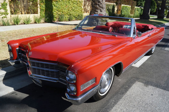 1966 Cadillac Eldorado CONVERTIBLE WITH FACTORY AIR CONDITIONING!