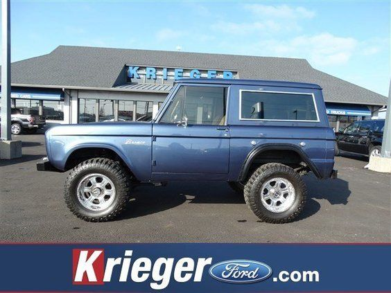 1966 Ford Bronco Custom
