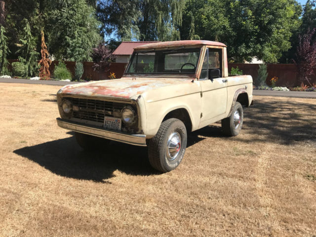 1966 Ford Bronco 1966 Early Bronco Half Cab
