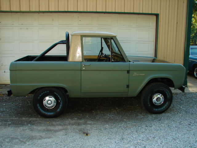 1966 Ford Bronco BASE SURVIVOR