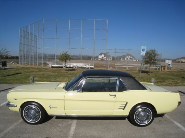 1966 Ford Mustang 4-speed