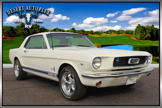 1966 Ford Mustang Custom 2-Door Coupe Fully Restored
