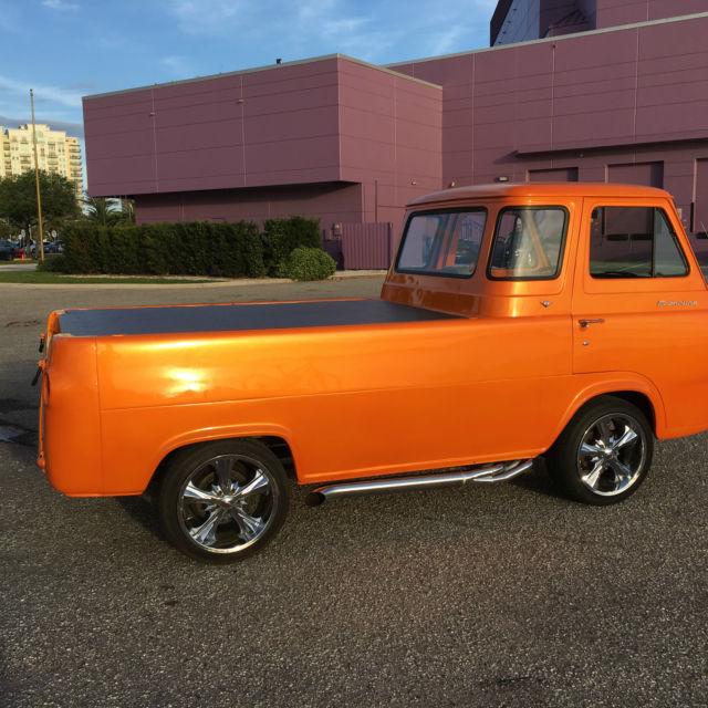 1966 Ford Econoline Pickup Rare With Small Block V8 For