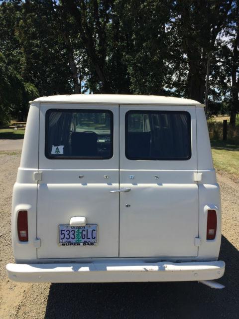 1966 Ford Econoline Super Van Stock Original Vintage For