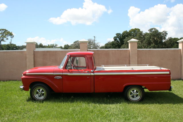 1966 Ford F-100 Base Standard Cab Pickup 2-Door