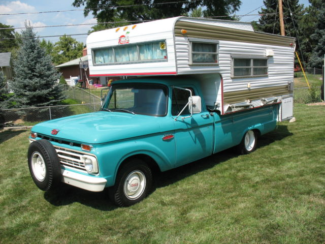 1966 Ford F-100 Camper Special