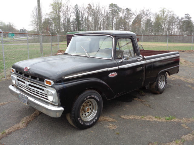 1966 Ford F 100 Custom Short Bed Pickup Truck 352 Engine