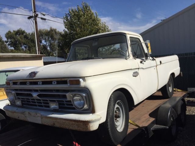 1966 Ford F-250 Costom Cab