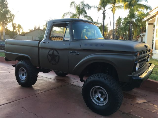 Por15 Where To Buy >> 1966 ford f100 4wd 4x4 Bronco Army for sale: photos ...