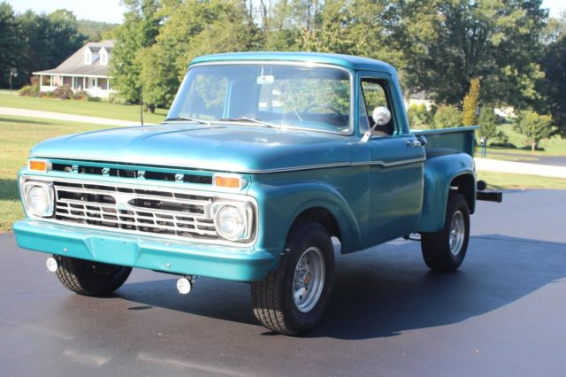 73 79 Ford Truck Bed For Sale >> 1966 ford f100 short bed step side for sale: photos, technical specifications, description