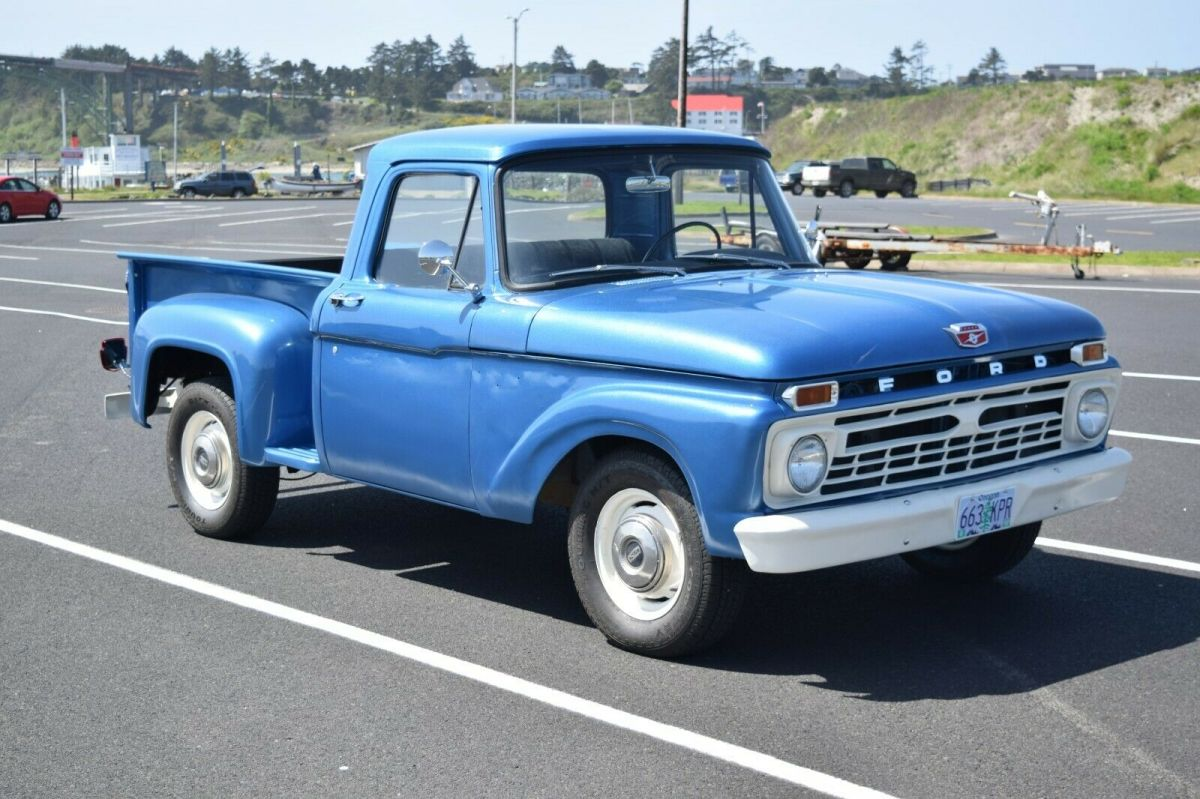 1966 Ford F100 Stepside 1 2 Ton Pickup For Sale Photos Technical Specifications Description