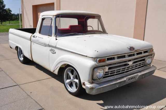 1966 Ford F100 SWB frame off patina hot rod restomod pro touring ...