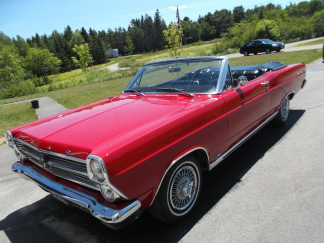 1966 Ford Fairlane 500 XL   convertable