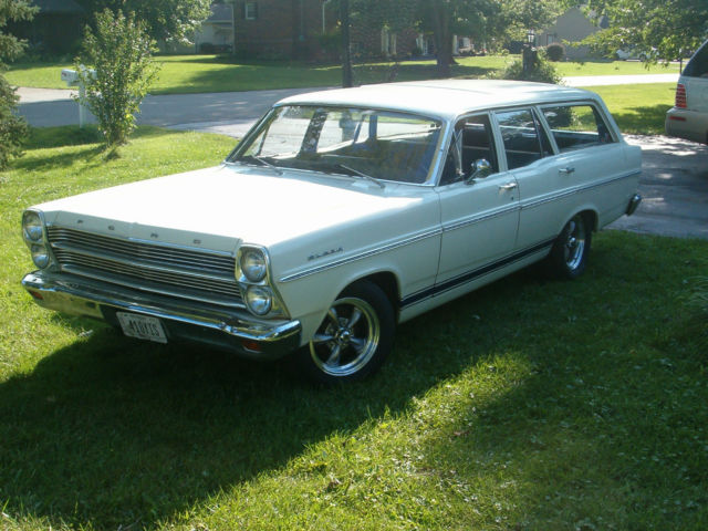 1966 Ford Fairlane Wagon