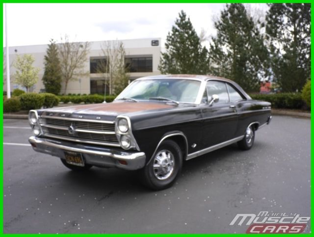 1966 Ford Fairlane Beautiful Sun Baked Patina V8 Buckets Console Car!
