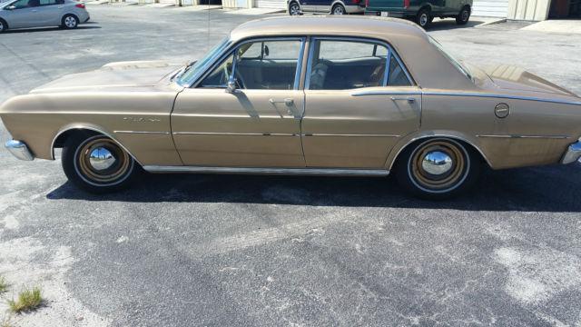 1966 Ford Falcon Futura 4-door 32k miles 200 Fairlane L6 for