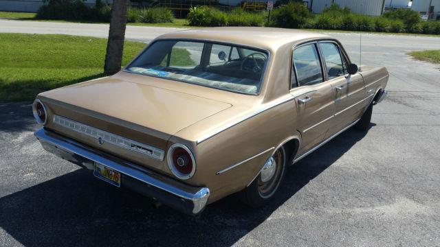 1966 Ford Falcon Futura 4 Door 32k Miles 200 Fairlane L6 For Sale