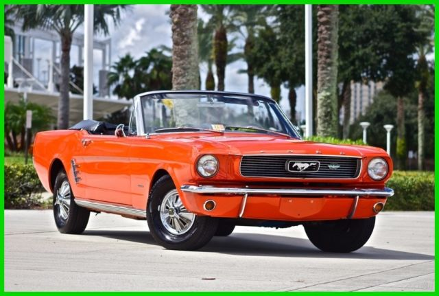 1966 Ford Mustang Convertible - Restored!!!