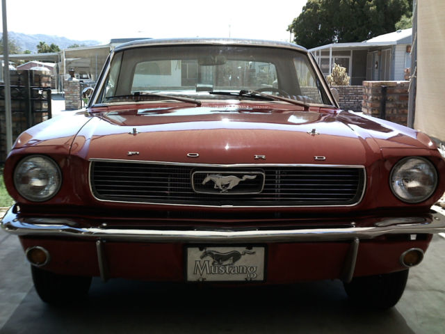 1966 ford mustang 289 v8 4brl auto west coast car very nice very fast for sale photos. Black Bedroom Furniture Sets. Home Design Ideas