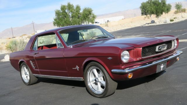 1966 Ford Mustang 289 V8 C CODE! P/S! NEW PAINT! POWER DISC BRAKES!